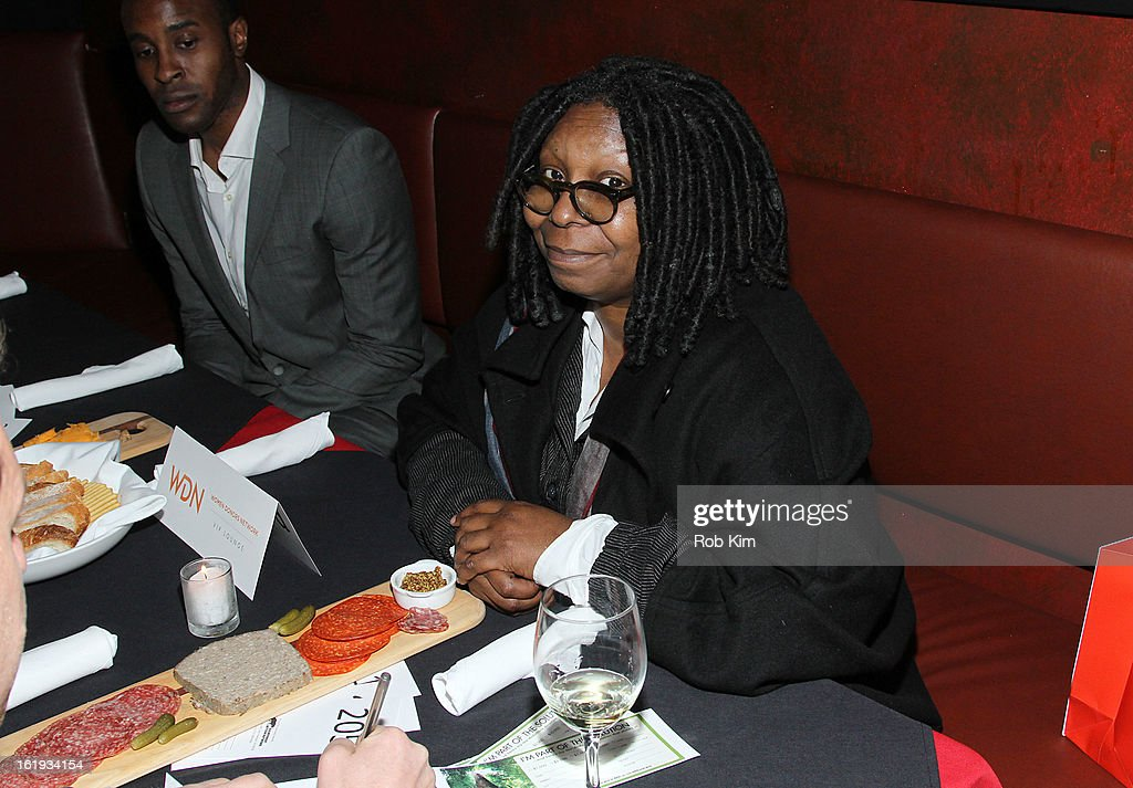 <a gi-track='captionPersonalityLinkClicked' href=/galleries/search?phrase=Whoopi+Goldberg&family=editorial&specificpeople=202463 ng-click='$event.stopPropagation()'>Whoopi Goldberg</a> attends The Rainforest Action Network Benefit at The Cutting Room on February 17, 2013 in New York City.