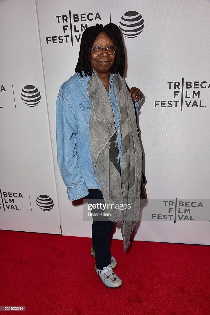 Whoopi Goldberg attends the Shorts Program: Whoopi's Shorts - 2016 Tribeca Film Festival at Spring Studios on April 17, 2016 in New York City.