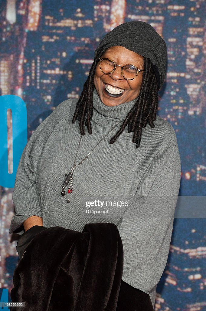 Whoopi Goldberg attends the SNL 40th Anniversary Celebration at Rockefeller Plaza on February 15 2015 in New York City