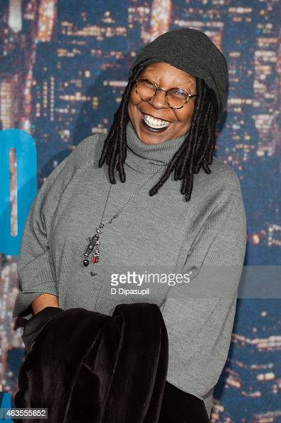 Whoopi Goldberg attends the SNL 40th Anniversary Celebration at Rockefeller Plaza on February 15 2015 in New York City