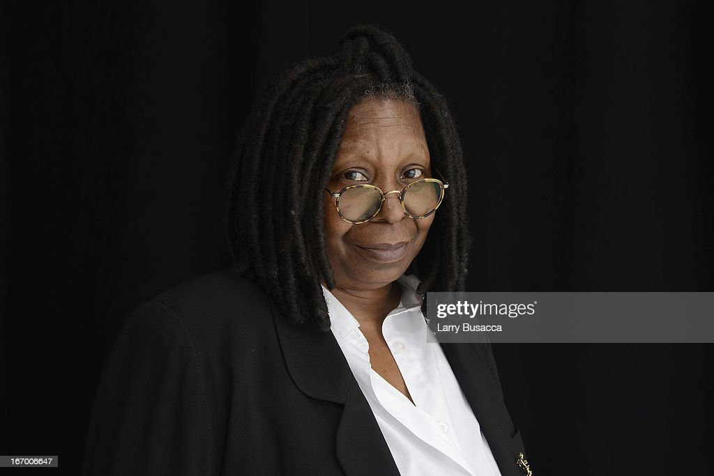 Whoopi Goldberg attends the Tribeca Film Festival 2013 portrait studio on April 19 2013 in New York City