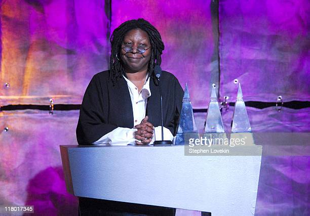 Whoopi Goldberg during 37th Annual Songwriters Hall of Fame Ceremony Show and Dinner at Marriott Marquis in New York City New York United States