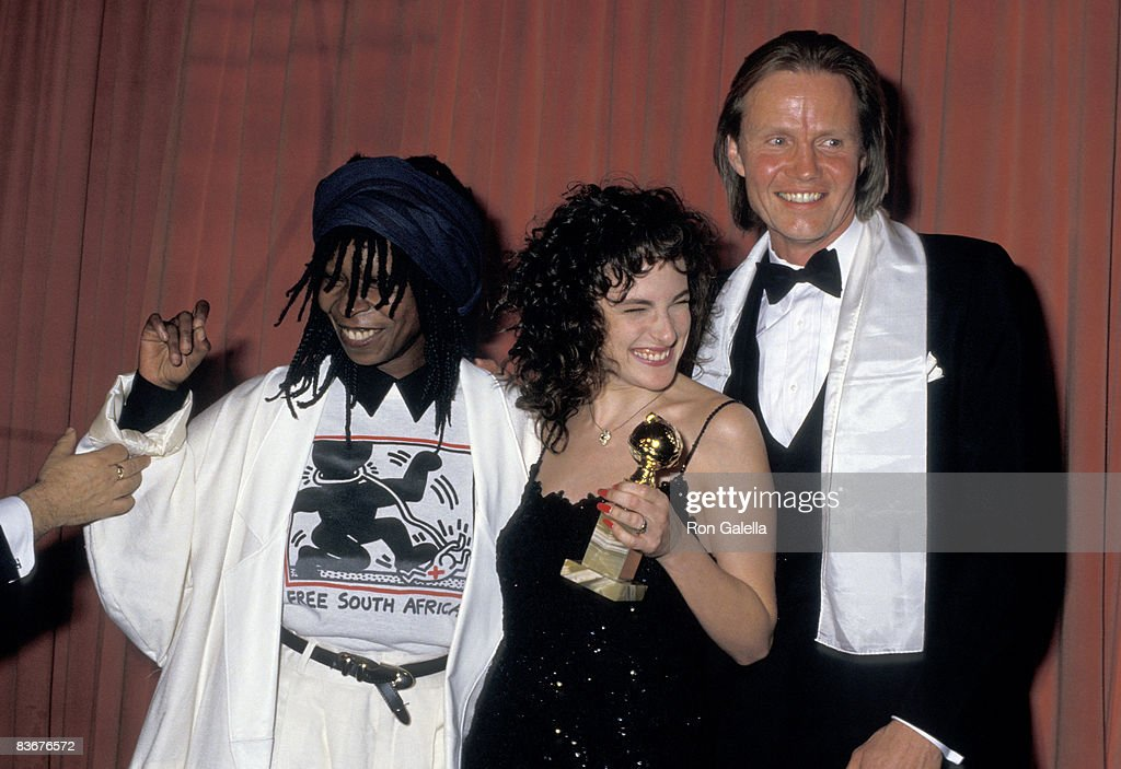 Whoopi Goldberg, Marlee Matlin and Jon Voight