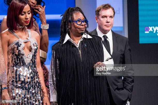 Whoopi Goldberg on stage during the 28th Annual GLAAD Awards at New York Hilton Midtown on May 6 2017 in New York City
