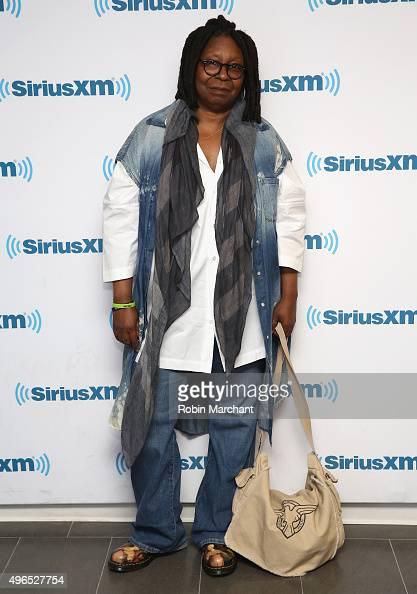 Whoopi Goldberg visits at SiriusXM Studios on November 10 2015 in New York City
