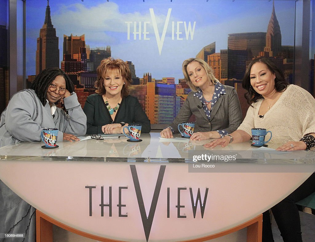 THE VIEW - Whoopi's daughter, Alex, is the featured guest co-host; a 'Roots' reunion with co-stars Levar Burton, Louis Gossett Jr., Ben Vereen and Leslie Uggams; author Amy Webb (How I Gamed Online Dating to Meet My Match) today on 'The View.' 'The View' airs Monday-Friday (11:00 am-12:00 noon, ET) on the ABC Television Network. MARTIN
