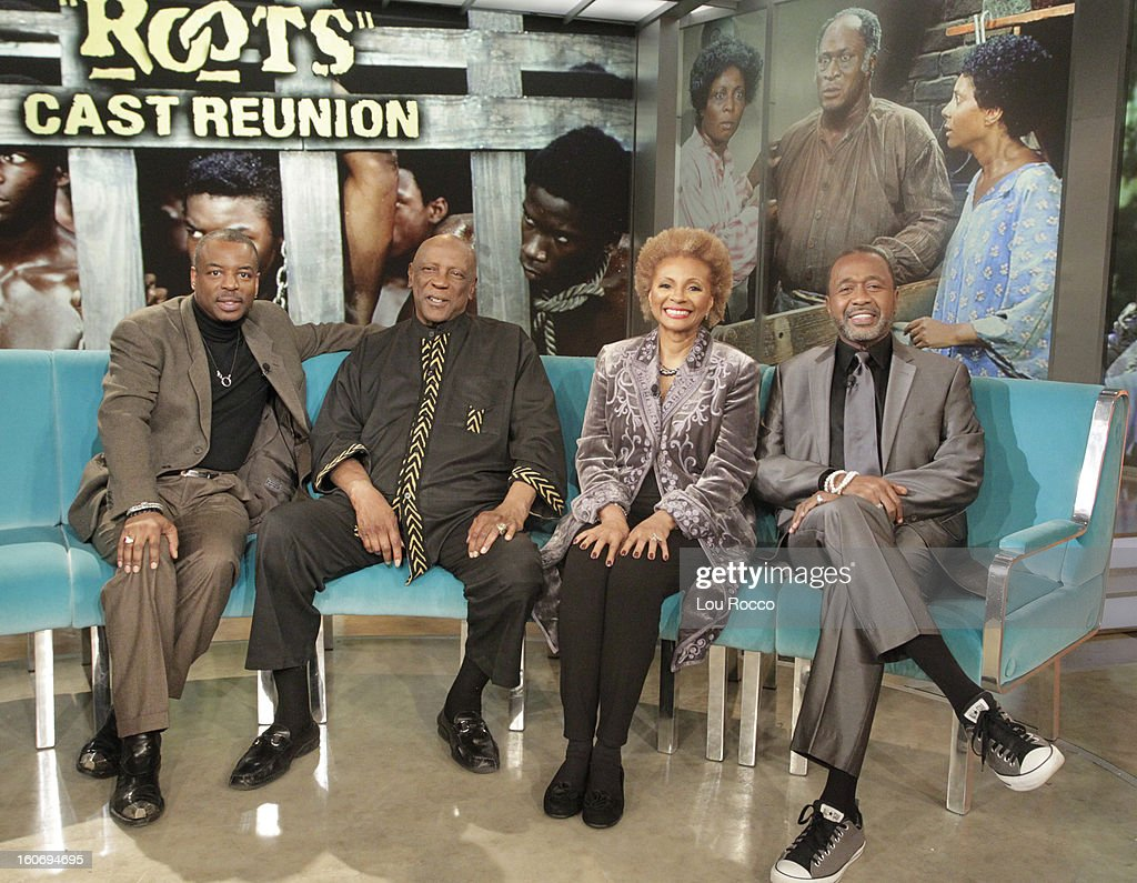 THE VIEW - Whoopi's daughter, Alex, is the featured guest co-host; a 'Roots' reunion with co-stars Levar Burton, Louis Gossett Jr., Ben Vereen and Leslie Uggams; author Amy Webb (How I Gamed Online Dating to Meet My Match) today on 'The View.' 'The View' airs Monday-Friday (11:00 am-12:00 noon, ET) on the ABC Television Network. VEREEN
