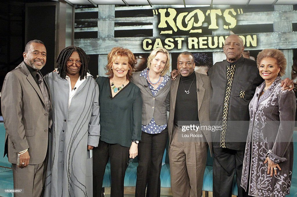 THE VIEW - Whoopi's daughter, Alex, is the featured guest co-host; a 'Roots' reunion with co-stars Levar Burton, Louis Gossett Jr., Ben Vereen and Leslie Uggams; author Amy Webb (How I Gamed Online Dating to Meet My Match) today on 'The View.' 'The View' airs Monday-Friday (11:00 am-12:00 noon, ET) on the ABC Television Network. UGGAMS