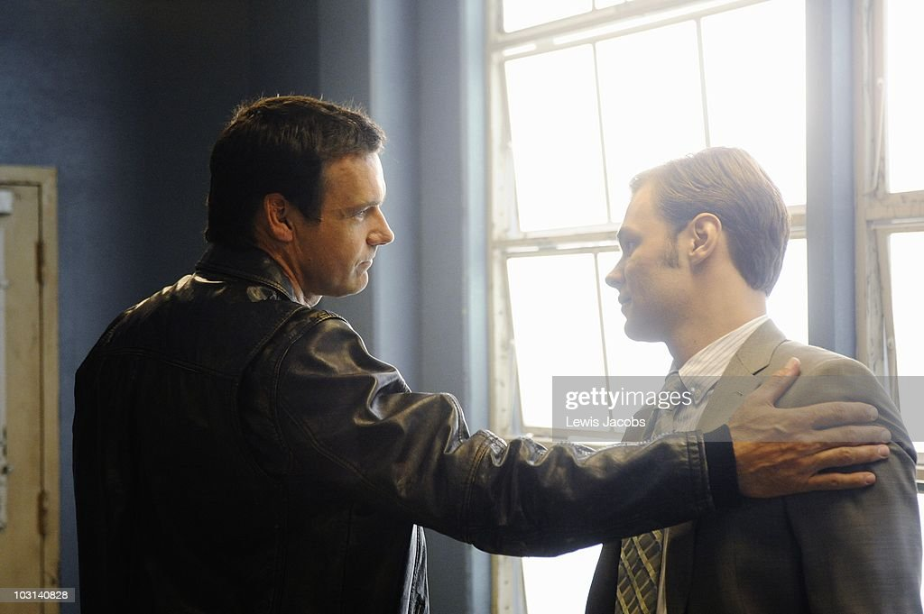 SCOUNDRELS - 'Who's Afraid of the Big Bad Wolf' - Logan discovers evidence that proves Wolf's innocence, and Wolf is stunned when he finds Cheryl in the arms of another man, on the Season Finale of 'Scoundrels,' SUNDAY, AUGUST 15 (9:00-10:00 p.m., ET) on the ABC Television Network. (Photo by Lewis Jacobs/ABC via Getty Images) DAVID