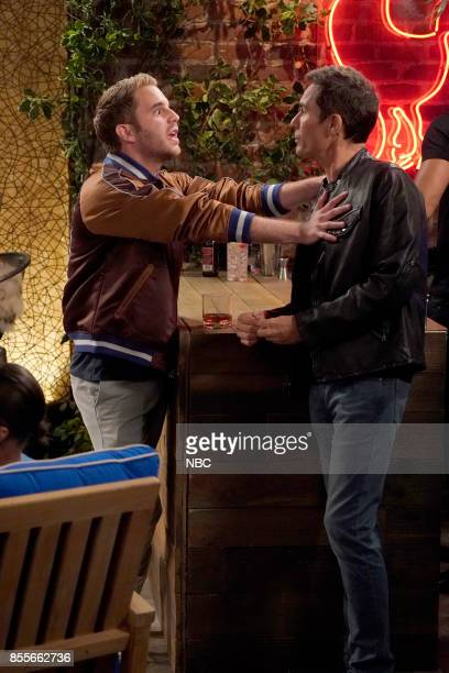 WILL GRACE 'Who's Your Daddy' Episode 102 Pictured Ben Platt as Blake Eric McCormack as Will Truman