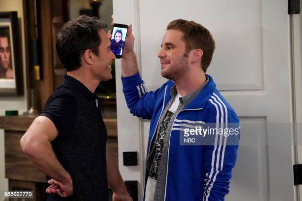 WILL GRACE 'Who's Your Daddy' Episode 102 Pictured Eric McCormack as Will Truman Ben Platt as Blake