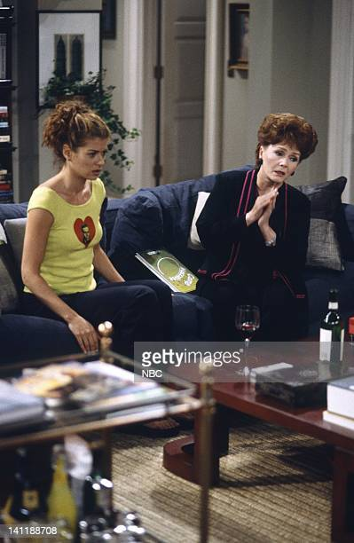 WILL GRACE 'Whose Mom Is It Anyway' Episode 4 Air Date Pictured Debra Messing as Grace Adler Debbie Reynolds as Bobbi Adler Photo by Chris...