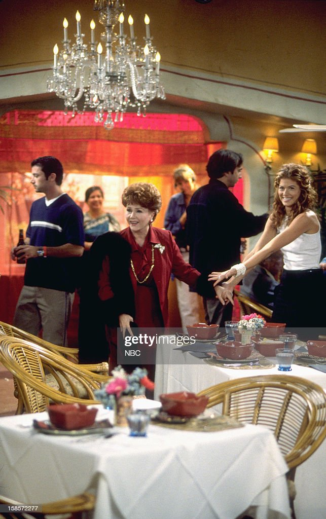 WILL & GRACE -- 'Whose Mom Is It, Anyway?' Episode 4 -- Pictured: (l-r) Debbie Reynolds as Bobbi Adler, Debra Messing as Grace Adler --