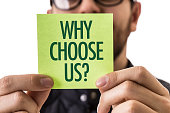 Why Choose Us? sign