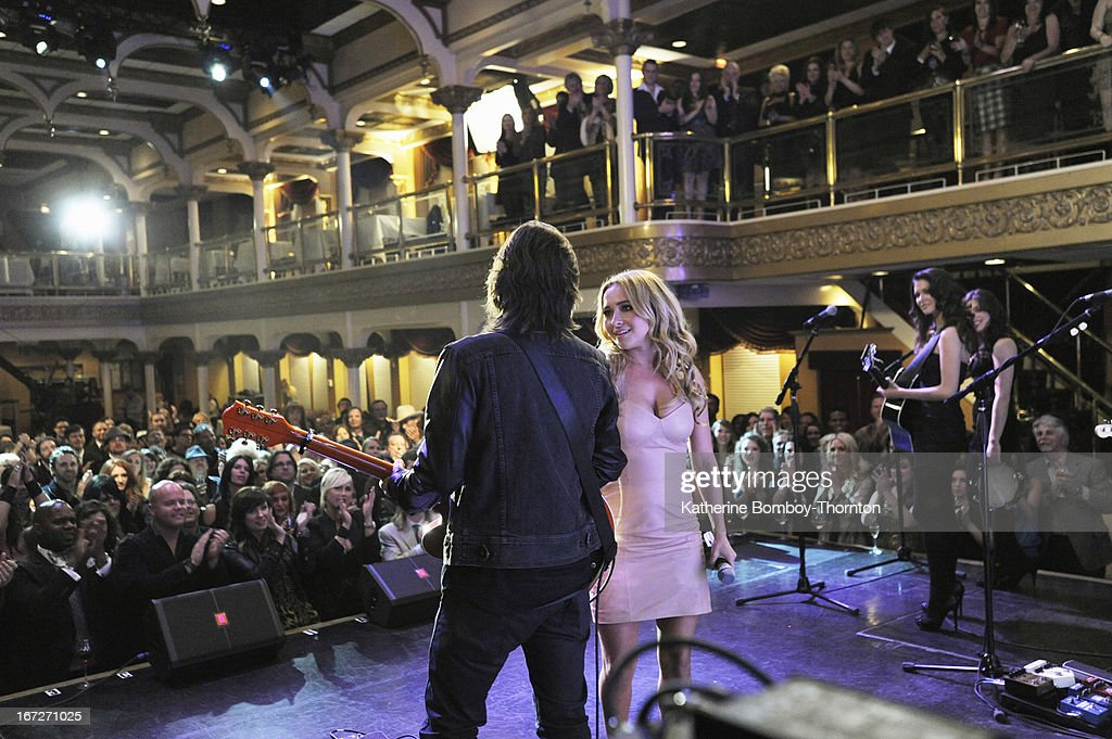 NASHVILLE -'Why Don't You Love Me' - Rayna and Juliette are both nominated for CMA Awards and Edgehill Records hosts a party in their honor. Meanwhile Teddy worries about his relationship with Maddie, Juliette copes with new challenges, Scarlett is concerned about Gunnar, and tension grows between him and Will, on 'Nashville,' WEDNESDAY, MAY 8 (10:00-11:00 p.m. ET) on the ABC Television Network. Guest starring Chris Carmack as Will, Susan Misner as Stacey and singer/songwriter Marshall Chapman as herself. PANETTIERE