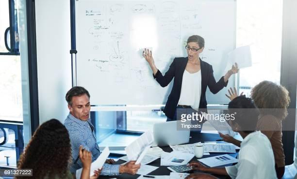 Warum ist niemand auf dieses Treffen vorbereitet?