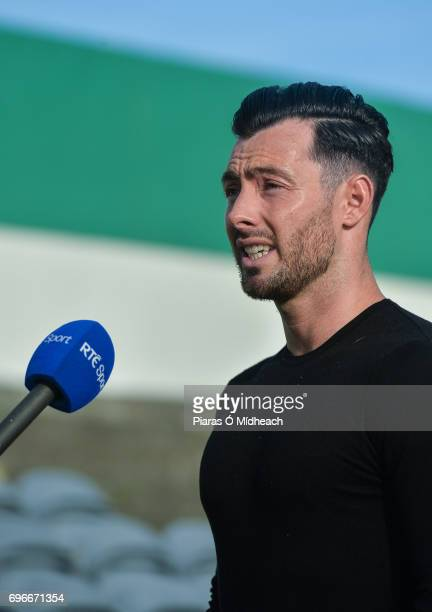 Wicklow Ireland 16 June 2017 Richie Towell of Brighton Hove Albion FC in attendance at the SSE Airtricity League Premier Division match between Bray...