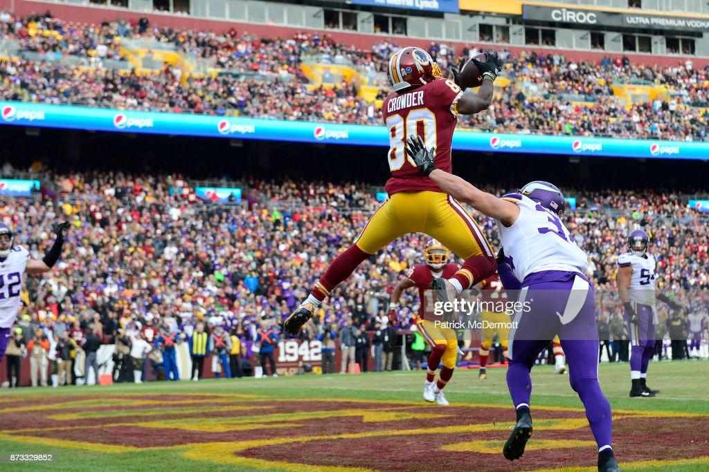 Minnesota Vikings v Washington Redskins : Fotografia de notícias