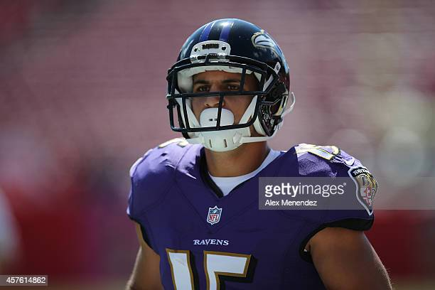 ... Wide receiver Michael Campanaro of the Baltimore Ravens is seen during  an NFL football game at ... 6d67a3934