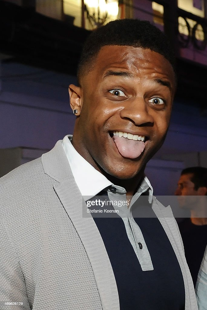 Wide receiver Randall Cobb of the Green Bay Packers attends Cartoon Network's fourth annual Hall of Game Awards at Barker Hangar on February 15, 2014 in Santa Monica, California.