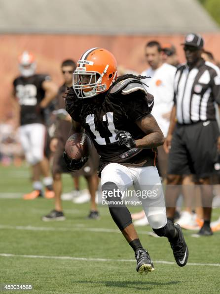2014 Cleveland Browns Training Camp Practice Pictures