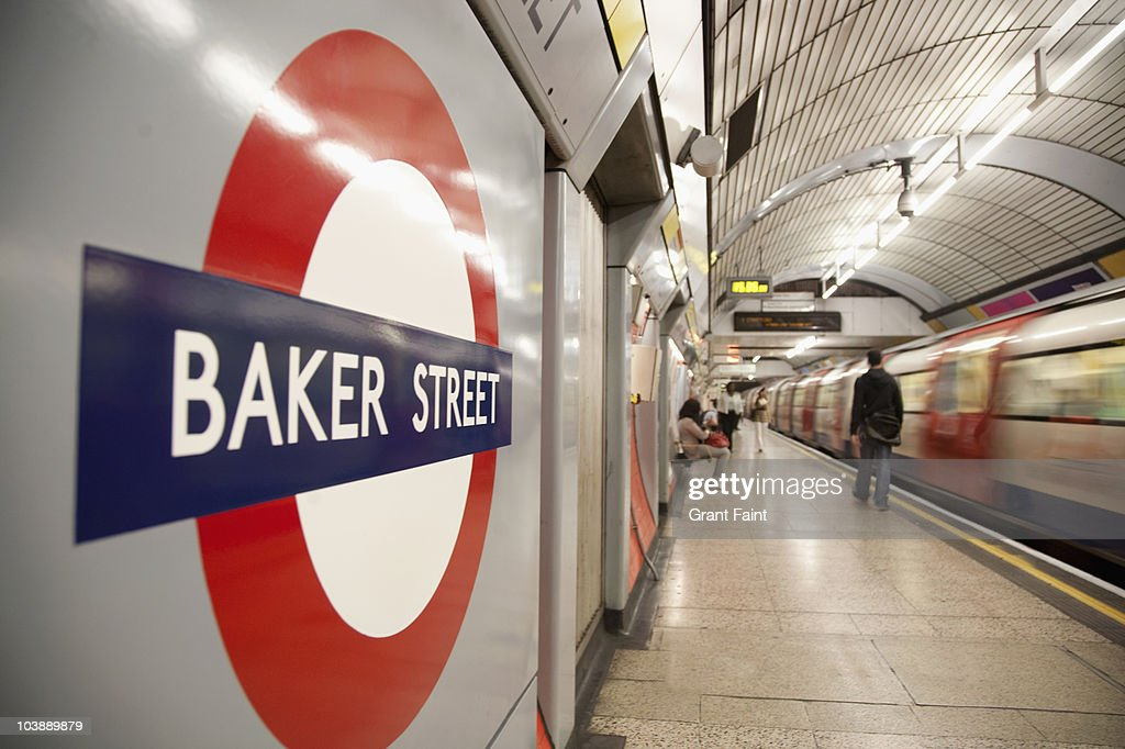 Wide view Underground station. : Stock Photo