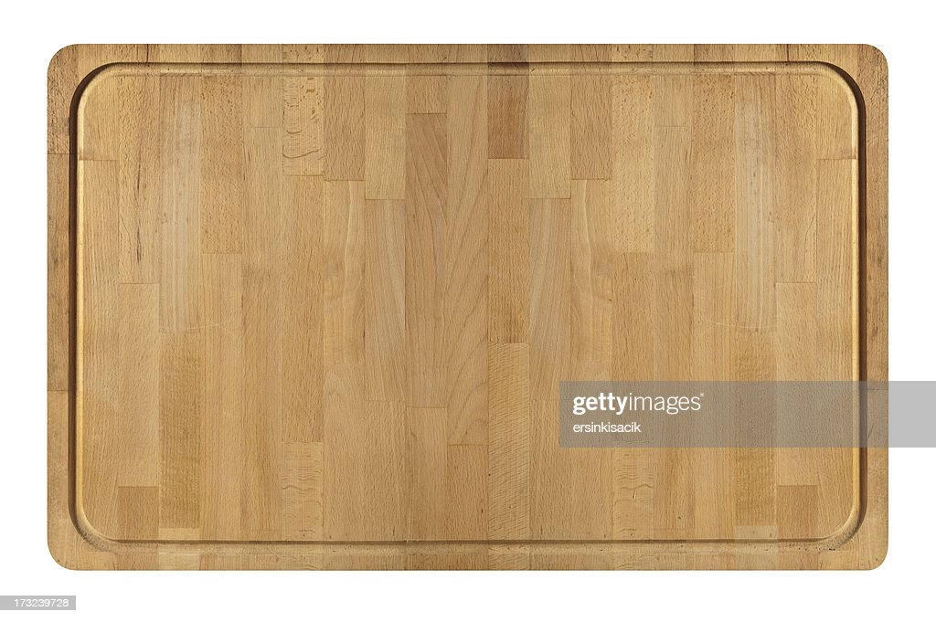 Wide Wooden Cutting Board