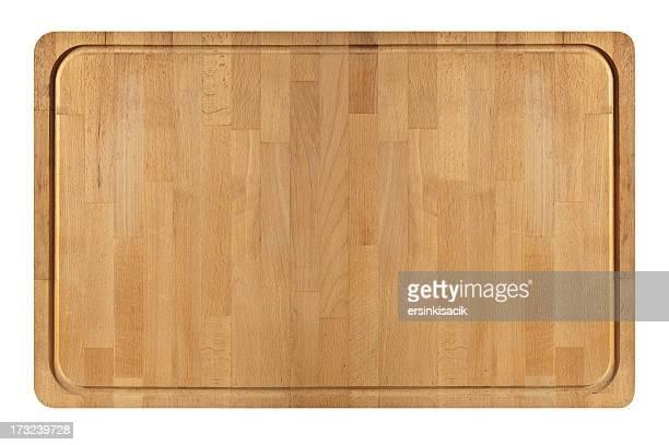 幅広の木製カティングボード