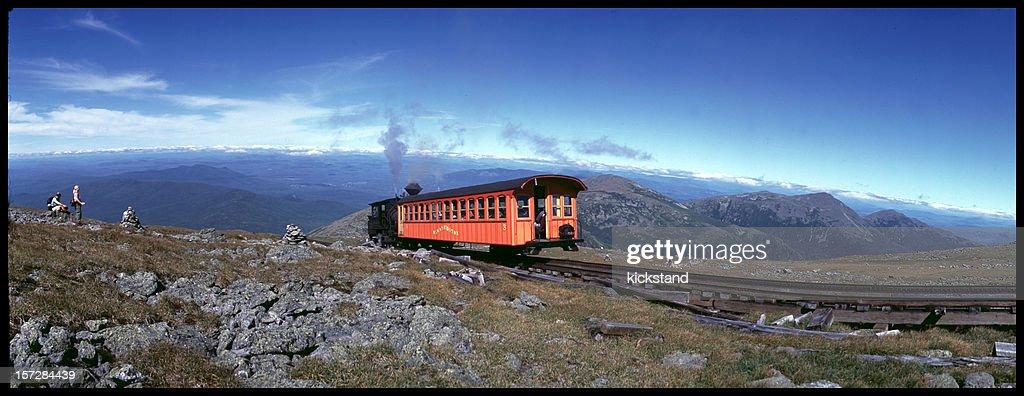 Widelux: Mt. Washington cog railway