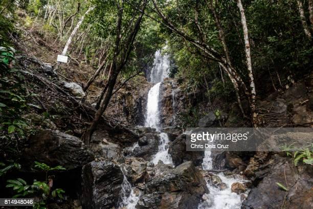 Wideshot of Diguisit Falls