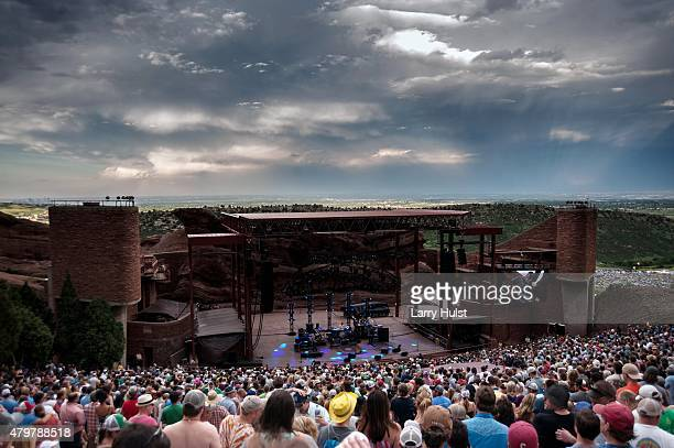Widespread Panic at Red Rocks Amplitheater in Morrison Colorado on June 28 2015