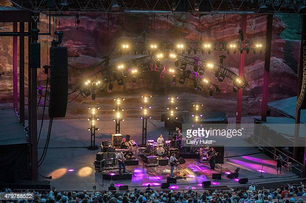 'Widespread Panic' at Red Rocks Amplitheater in Morrison Colorado on June 28 2015
