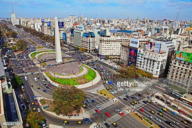 Widest avenue in the world, Buenos Aires,