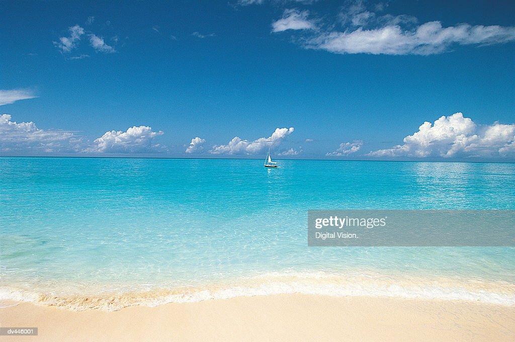 Widow's Beach, Mexico, Central America : Stock Photo