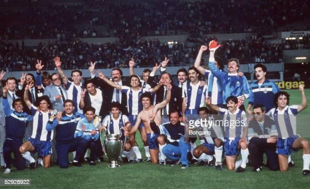 LANDESMEISTER 1987 Wien FC BAYERN MUENCHEN FC PORTO 12 SIEGER TEAM FC PORTO