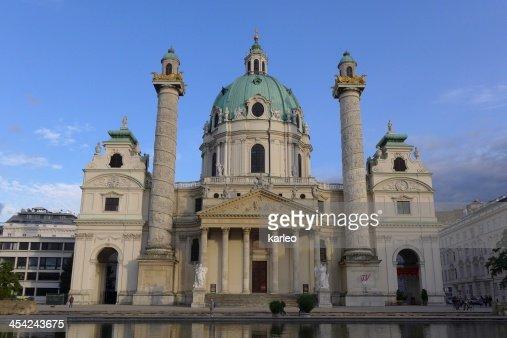 Wien, Vienna, Vindobona, Karlsplatz, Europe, Osterreich, Musik Verein : Stock Photo