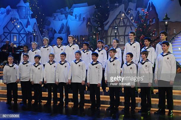 Wiener Sängerknaben BRBenefizGala 'SternstundenGala' Frankenhalle Nürnberg Bayern Deutschland Europa Auftritt Bühne Benefizgala Chor Sänger Promi BB...