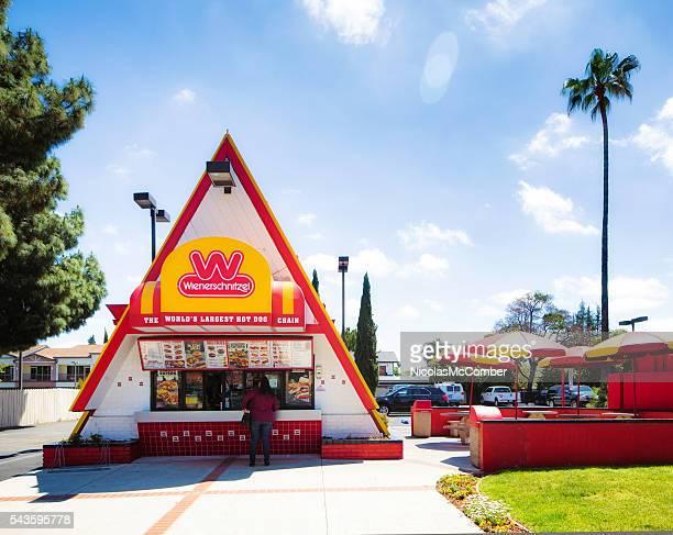Wienerschnitzel Hot Dog restaurant in Campbell California
