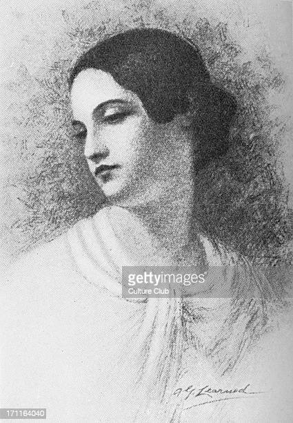 Virginia Poe In 1847 Wife of Edgar Allen Poe the American poet shortstory writer editor and literary critic 22 August 1822 – 30 January 1847 Artist...