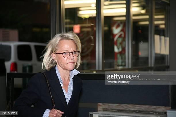 Wife of fraudulent financier Bernard Madoff Ruth Madoff leaves the Metropolitan Correctional Center after visiting her husband in prison June 1 2009...
