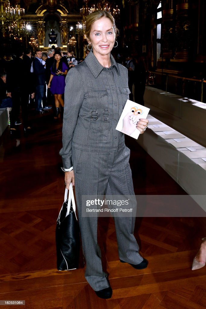 Wife of Ringo Starr, <a gi-track='captionPersonalityLinkClicked' href=/galleries/search?phrase=Barbara+Bach&family=editorial&specificpeople=240623 ng-click='$event.stopPropagation()'>Barbara Bach</a> Starkey attends Stella McCartney show as part of the Paris Fashion Week Womenswear Spring/Summer 2014, held at Opera Garnier on September 30, 2013 in Paris, France.