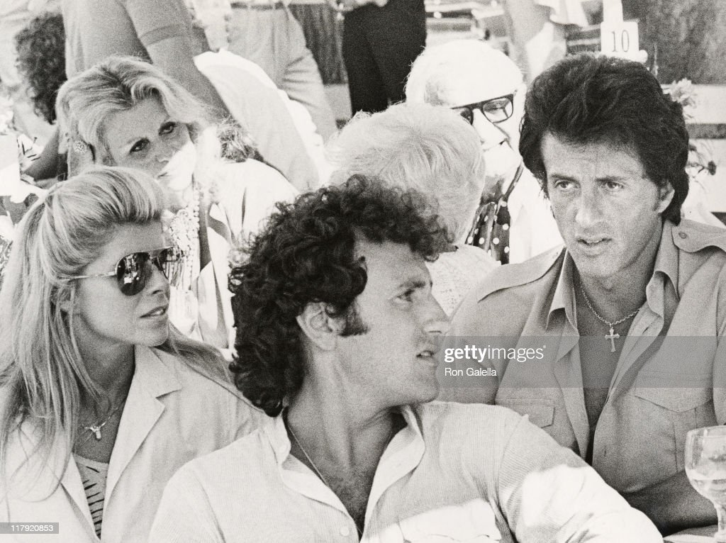 Wife Sasha Czack Stallone, <a gi-track='captionPersonalityLinkClicked' href=/galleries/search?phrase=Frank+Stallone&family=editorial&specificpeople=224755 ng-click='$event.stopPropagation()'>Frank Stallone</a>, and <a gi-track='captionPersonalityLinkClicked' href=/galleries/search?phrase=Sylvester+Stallone&family=editorial&specificpeople=202604 ng-click='$event.stopPropagation()'>Sylvester Stallone</a>