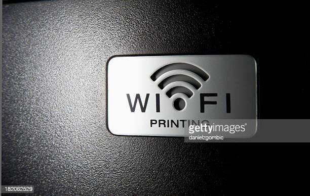 Wi-Fi Printing Sign