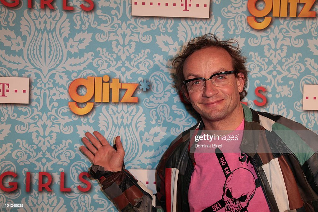 Wigald Boning attends 'Girls' preview event of TV channel glitz* at Hotel Bayerischer Hof on October 16, 2012 in Munich, Germany. The series premieres on October 17, 2012 (every Wednesday at 9:10 pm on glitz*).