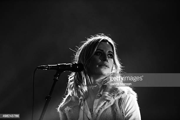Wigmore performs on stage during her Blood To Bone NZ Tour at the Civic Theatre on November 22 2015 in Invercargill New Zealand