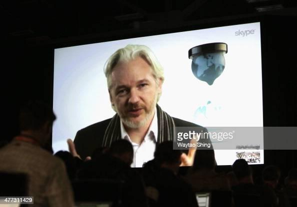 Virtual conversation with julian assange 2014 sxsw music film