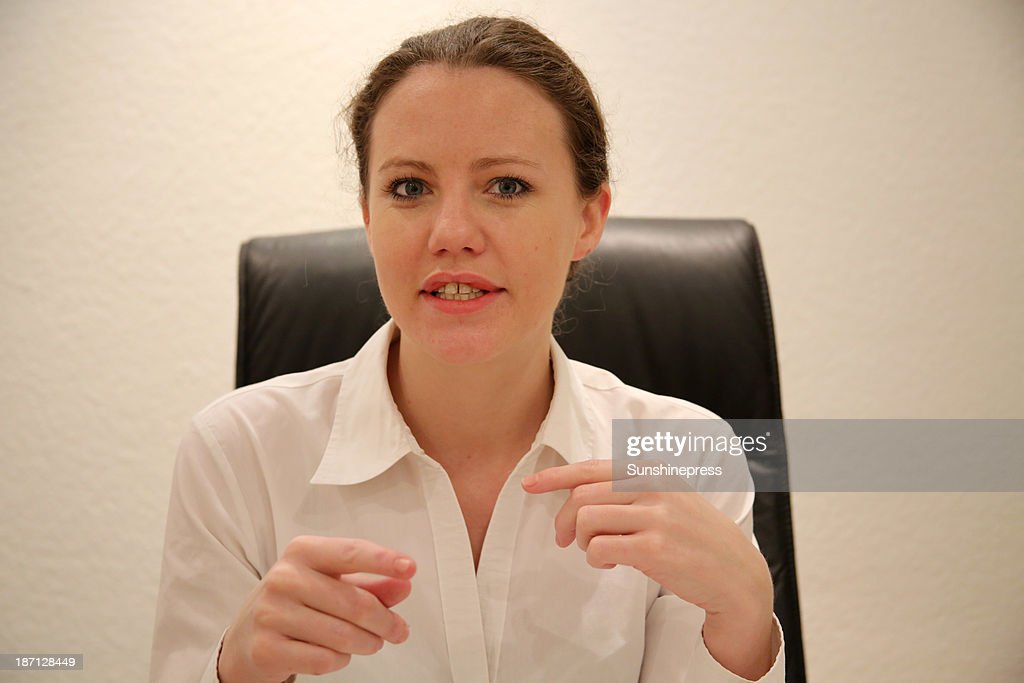 WikiLeaks journalist Sarah Harrison who spent four months assisting whistleblower Edward Snowden makes a statement announcing her arrival in Germany...