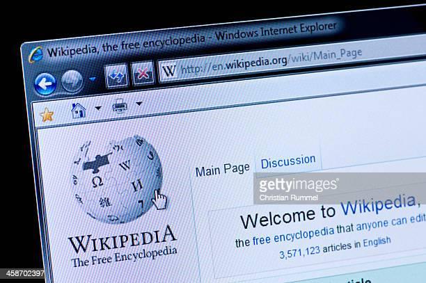 Wikipedia - Macro shot of real monitor screen