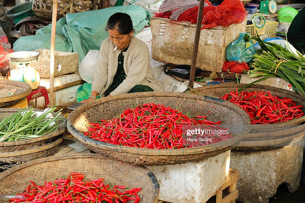The chili pepper (also chile pepper or chilli pepper is the fruit of plants from the genus Capsicum, members of the nightshade family, Solanaceae. The term in British English and in Australia, New Zealand, India, Malaysia and other Asian countries is just chilli without pepper.