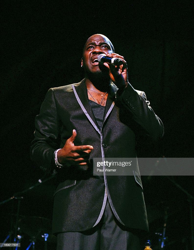 Wil Downing performs in concert at Music Hall Center on March 2, 2013 in Detroit, Michigan.